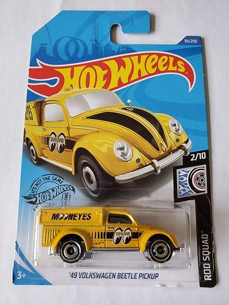 HOT WHEELS /'49 VOLKSWAGEN BEETLE PICKUP MOONEYES VW ROD SQUAD 2020 bug GHD23-D9C