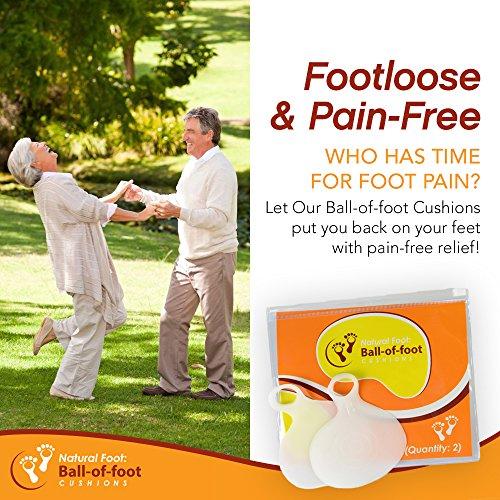 Natural Foot Metatarsal Foot Pad...