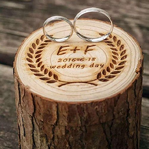 Rustic Wedding Ring Box Holder Custom Ring Box Personalized Wedding / Valentines Engagement Wooden Ring Bearer Wood - And Tiffanys Co Uk