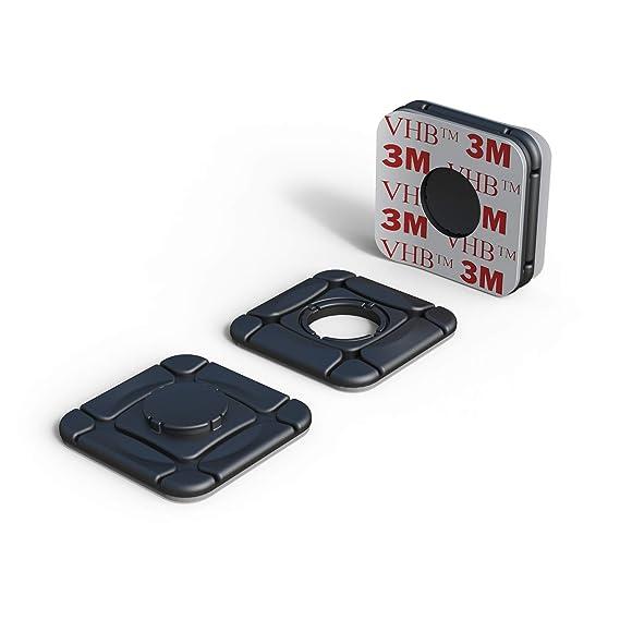 ClickClix Sistema de fijación Ideal Via-t/Telepeaje / Teletac, móvil, GPS, Router Adhesivo (Patentado) (6 Unidades, Negro): Amazon.es: Juguetes y juegos
