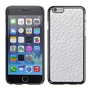 [Neutron-Star] Snap-on Series Teléfono Carcasa Funda Case Caso para Apple (4.7 inches!!!) iPhone 6 / 6S [Material de diseño blanco del papel pintado]