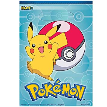 Amscan International - 371844 Pokémon bolsa de botín: Amazon ...