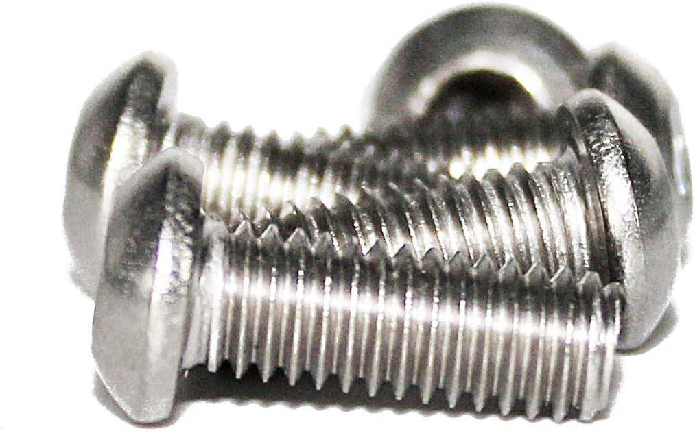 ISO 7380 Linsenschraube mit Innensechskant Edelstahl A2 M4x 25 mm 50 St