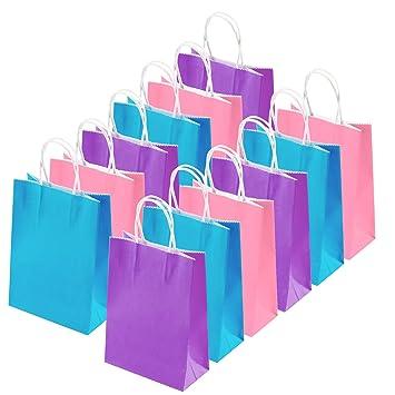 Amazon.com: Coobey - 20 bolsas de papel kraft para regalos ...