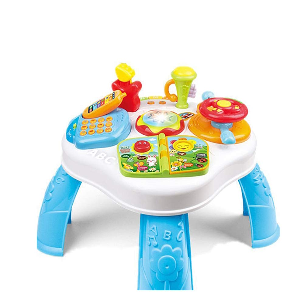 TECHLINK Puzzle Creative Toys Super Fun Baby Play and Learn Activity Table Educational Gifts for Kids Educational Toys for Kids 3+ Ideal for Kids by TECHLINK