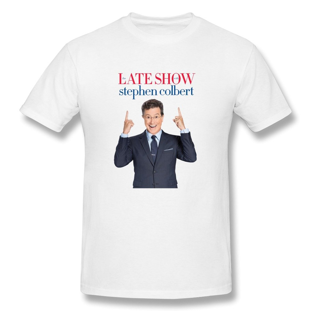 Amazon: Losnger Men's The Late Show With Stephen Colbert T Shirt: Books