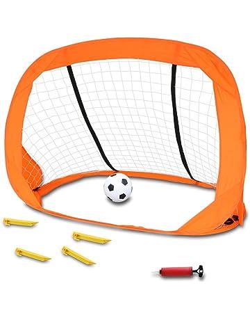 c1f8c9113c3ce Akokie Cage de Foot Pop-up But de Foot avec Un Mini Football Goal Foot
