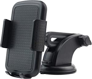 Universal Adjustable Dashboard Suction Cup Holder Car Mount for Cell Phones