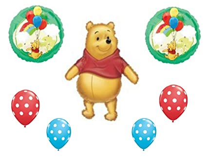 Amazon.com  LoonBalloon WINNIE the POOH Baby Shower Little One ... 496bc80a5bb9