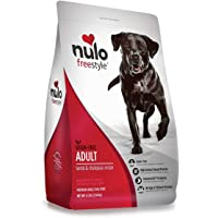 Nulo Adult Grain Free Dog Food: All Natural Dry Pet Food for Large and Small Breed Dogs, Lamb, Salmon, or Turkey Recipe - 4.5, 11, or 24 lb Bag