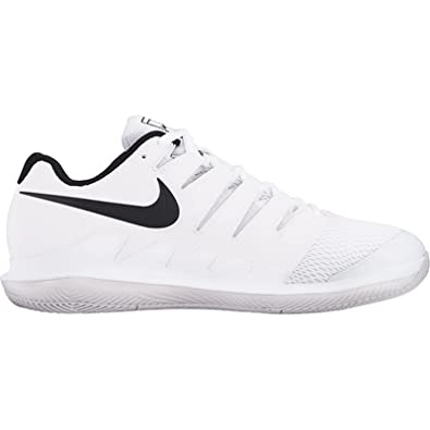 Amazon.com | Nike Men's Zoom Vapor X HC Wide White/Black/Vast Grey/Summit  White | Tennis & Racquet Sports