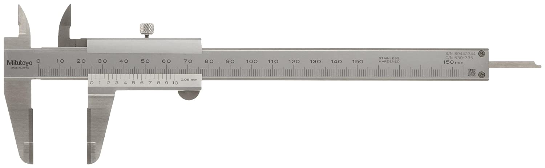 mitutoyo vernier caliper metric amazon com industrial scientific