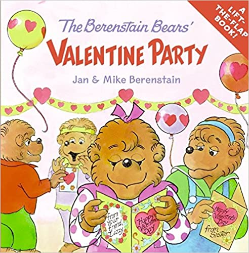 Berenstein Bears Valentine Book