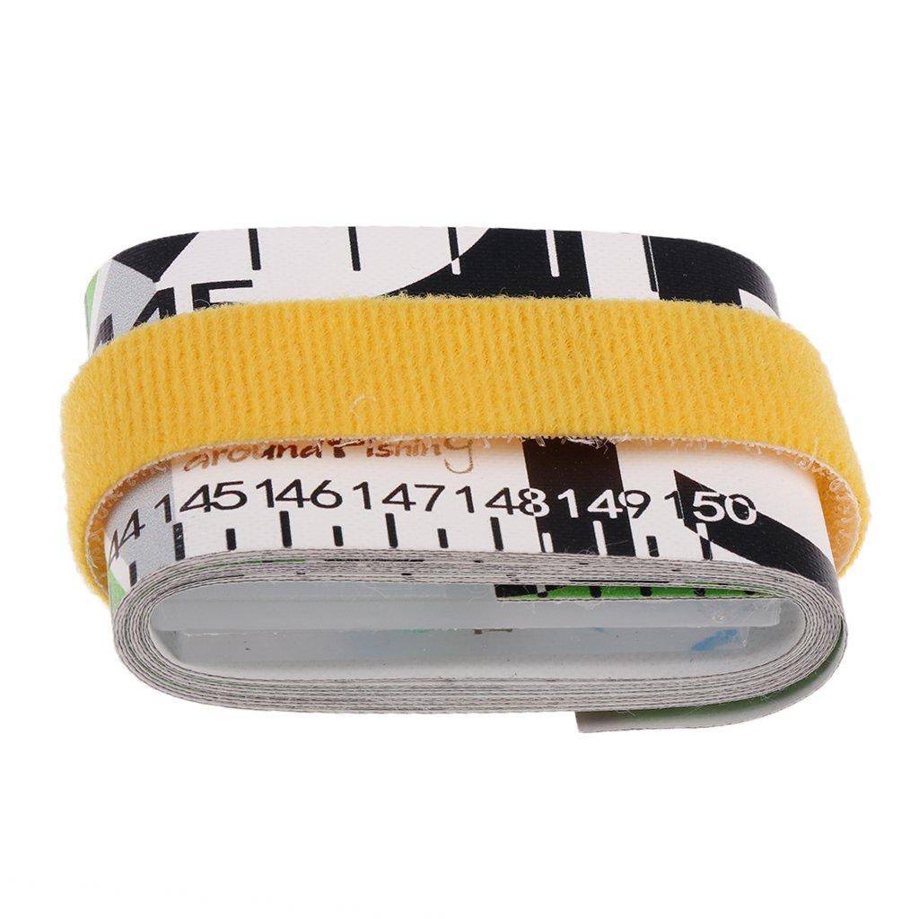 Sharplace Folding Ruler Fish Measuring Scale Saltwater Freshwater Fishing Tape Measure