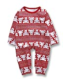 #6: Valentines Baby Boy Girl Clothes Romper Bear Jumpsuit Red Bodysuit