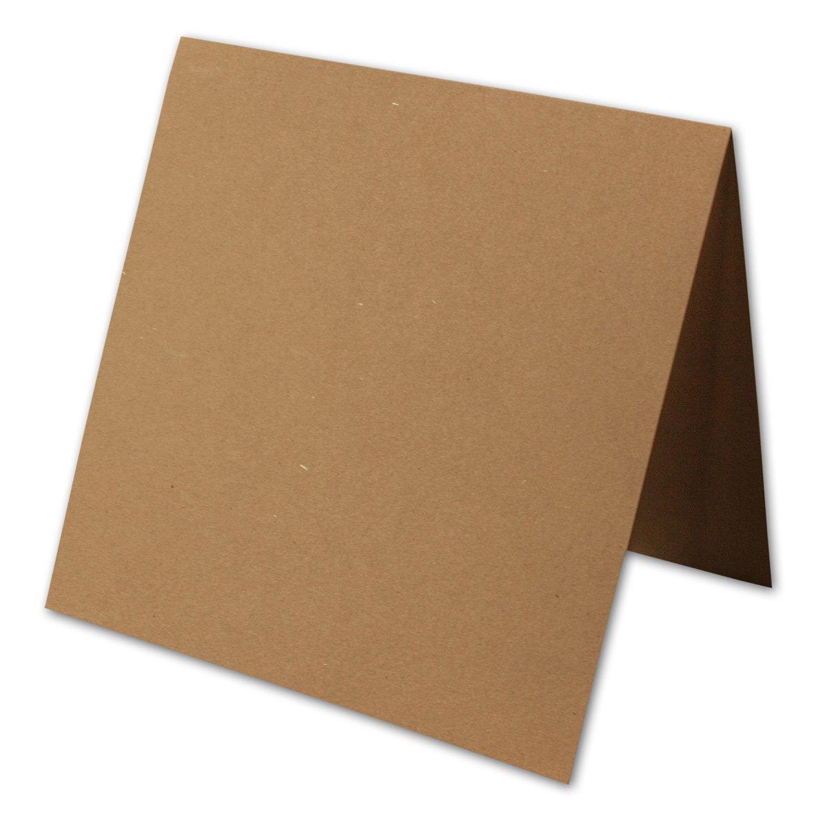 50 Stück    Artoz Grün-Line Doppelkarten    Quadratisch, 310 x 155mm, Farbe  grocer kraft B00V885HBA | Outlet Store