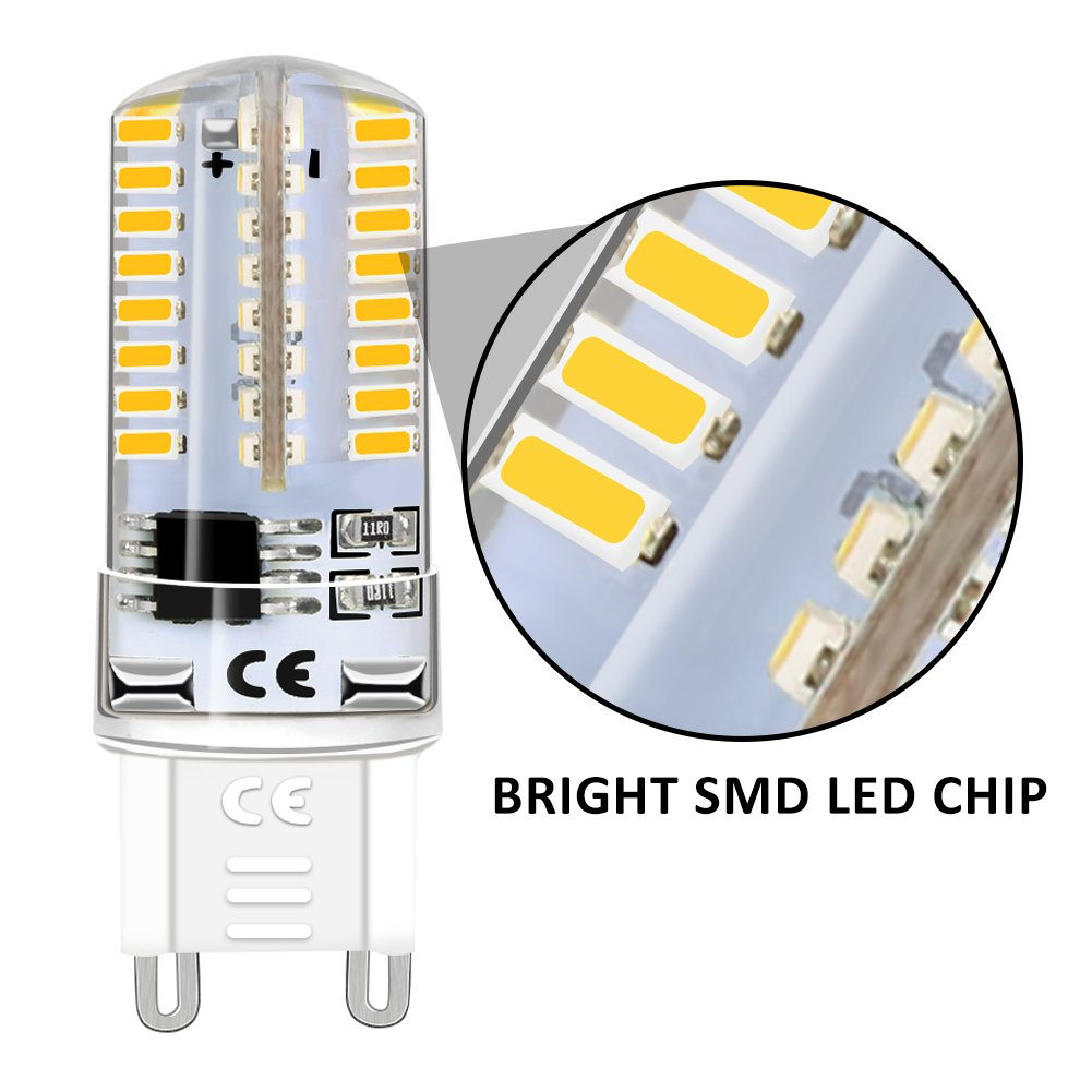 Counter Top 10 Halogen Light Bulbs For Bathroom Microwave Oven G8 20W Kitchen