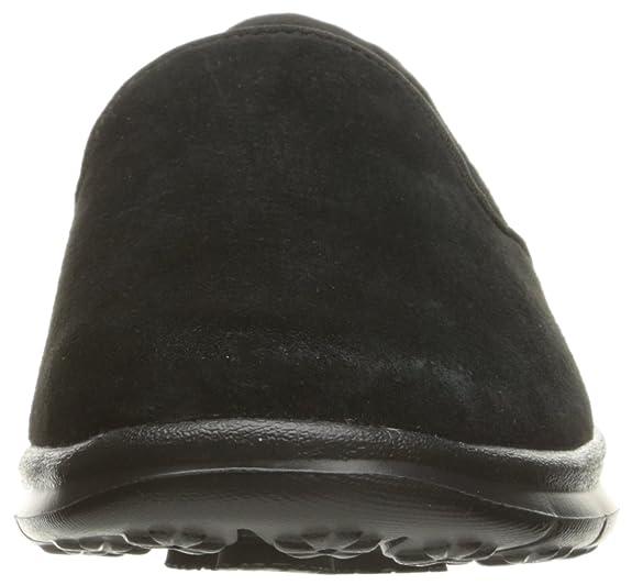 Skechers Performance Go de la Mujer Paso Untouched Walking Zapatos, Gris (Charcoal Suede), 6 B(M) US