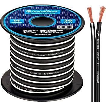Installgear Speaker Wire : installgear 14 gauge awg 30ft speaker wire cable black automotive ~ Russianpoet.info Haus und Dekorationen