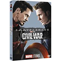 Captain America Civil War 10° Anniversario Marvel Studios dvd