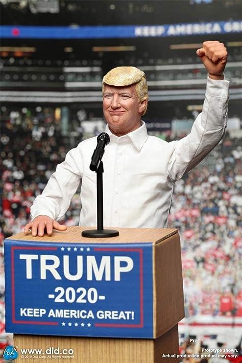 NEDTO Did 1/6 Scale AP003 Donald Trump 2020 Figure: Amazon.es: Hogar