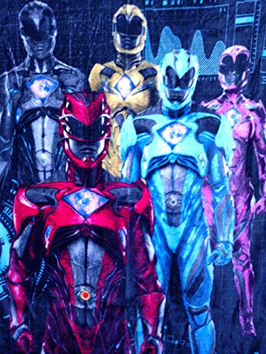 Power Rangers Blankets - 3
