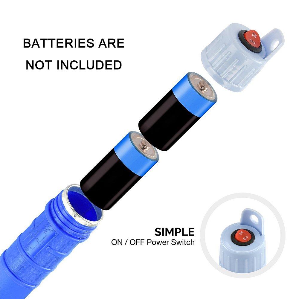 ONCCI Siphon Pumpe Batteriepumpe Elektrische Benzinpumpe Kanisterpumpe Umf/üllpumpe von Diesel /Öl Wasser Blau