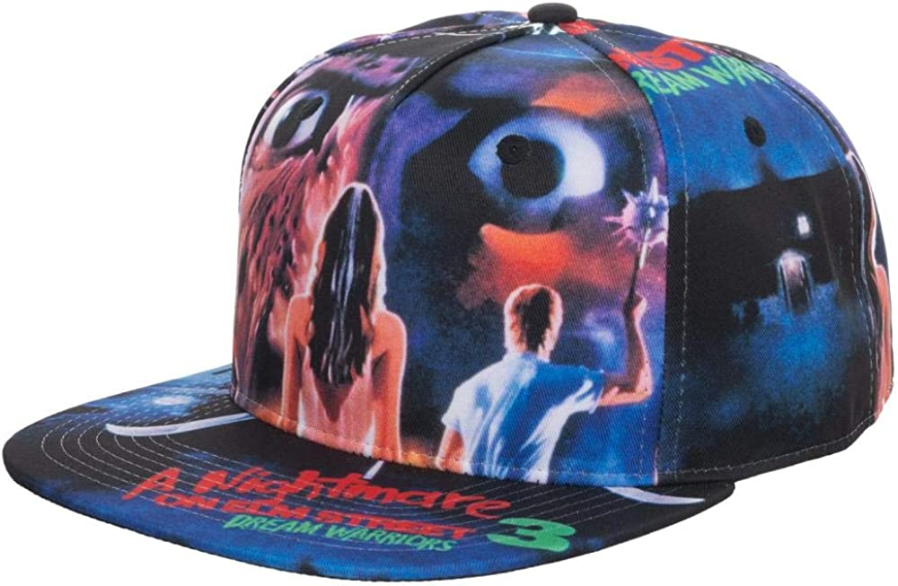 Bioworld Merchandising Independent Sales Snapback Nightmare on Elm Street Poster Standard
