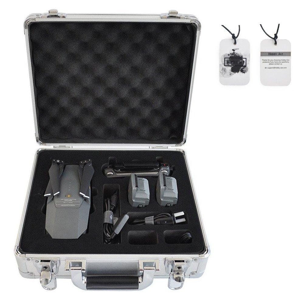 Portable Aluminum Hard Case Box Suitcase for DJI Mavic Pro Silver
