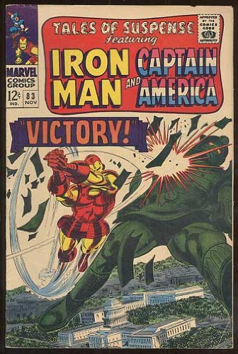 Tales of Suspense featuring Iron Man and Captain America, v1 #83. Nov 1966 [Comic Book]