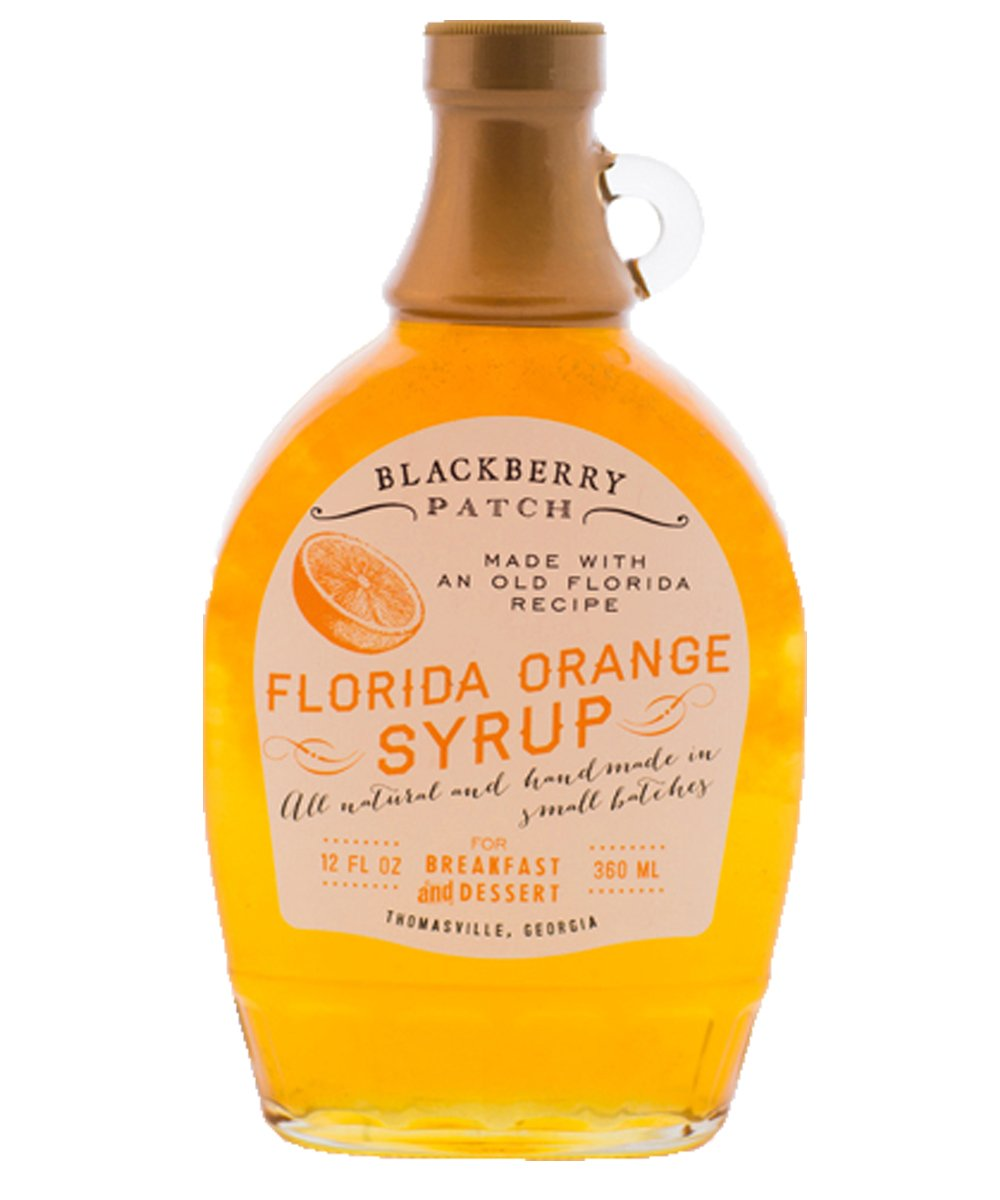Amazon.com : Blackberry Patch Florida Orange Syrup All Natural Handmade In Small Batches | For breakfast pancakes and waffles or drizzled over fresh fruit.