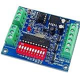 Yaqing Lighting 3CH Easy DMX Dimmer Controller,3 Channel RGB LED DMX 512 Dimmer,LED DMX512 Decoder,DC5V-24V Output