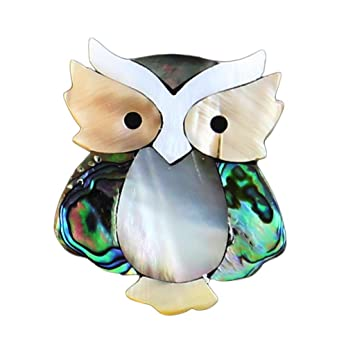 c33282beaca MagiDeal Broche Prendedor Pin de Forma Búho Joyería Bonita y Elegante:  Amazon.es: Juguetes y juegos