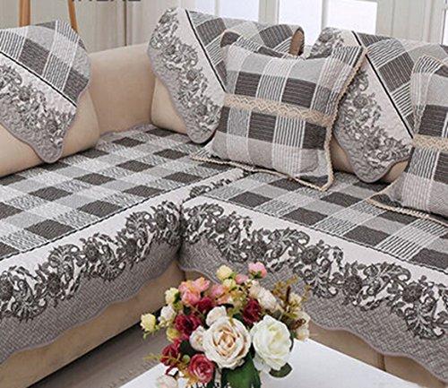Awesome Four Seasons Cotton Cloth Sofa Cushion Simple Modern High Short Links Chair Design For Home Short Linksinfo