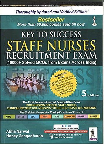 Buy Key to Success Staff Nurses Recruitment Exam (10000+