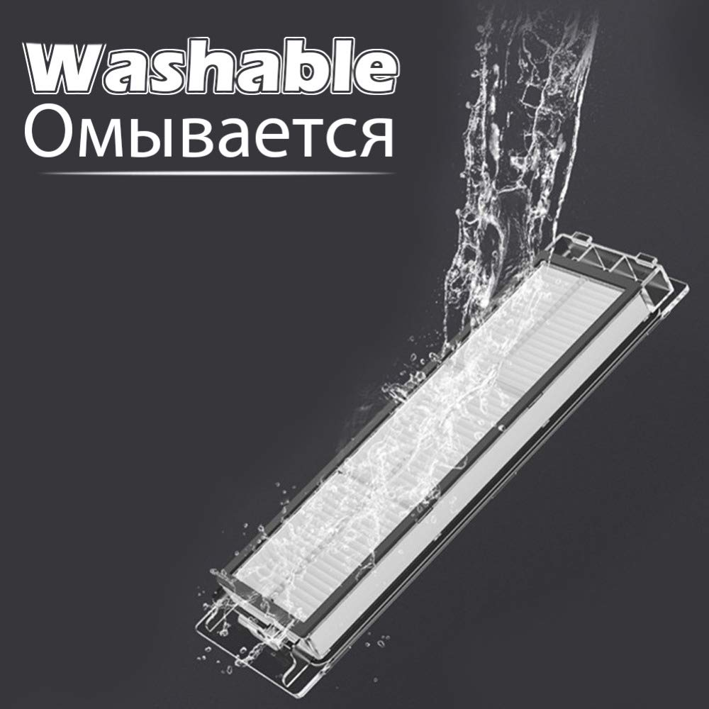 Amazon.com: Improved Version Waterproof Washable Hepa Filter ...