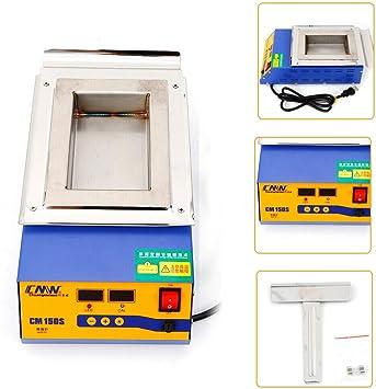 110V Solder Pot Soldering Desoldering Bath Stainless Steel Plate 100mm//300W