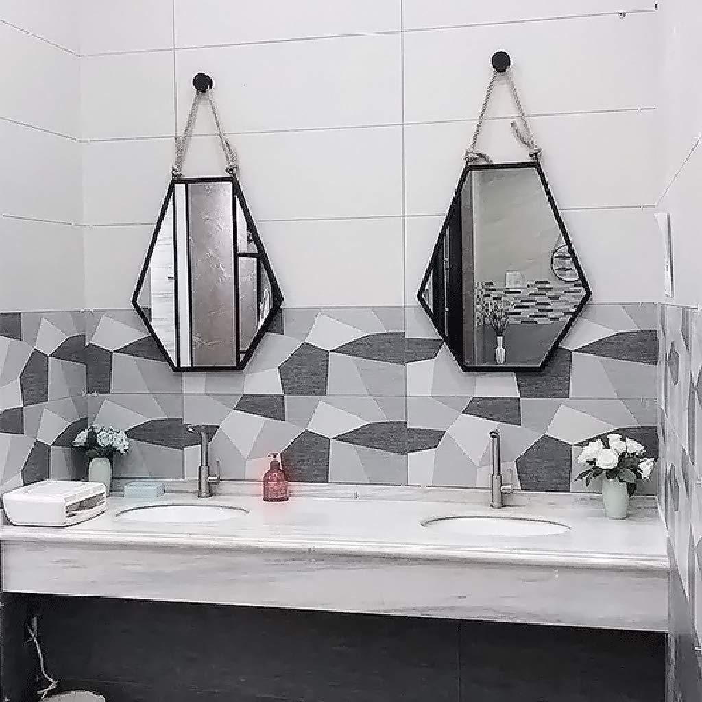 Baño De De Montado Espejo Baño HierroHexagonal De HierroHexagonal Montado Baño HierroHexagonal Espejo Espejo n0m8vNw