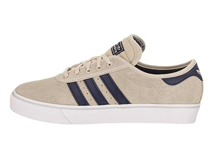 adidas Adi Ease Premiere (Clear BrownCollegiate NavyWhite) Men's Skate Shoes