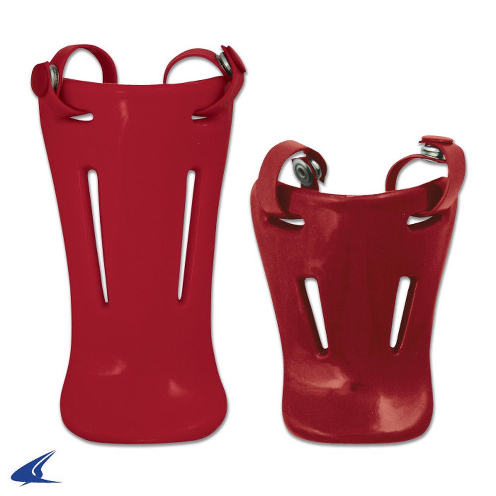 CHAMPRO Throat Guards Scarlet 6.5'' CM06-CM07 CM06-S