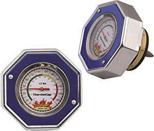 Mr. Gasket Domestic Thermocap 13 Psi-Blue