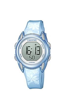 Calypso Reloj Digital para Mujer de Cuarzo con Correa en Plástico K5735/7: Amazon.es: Relojes