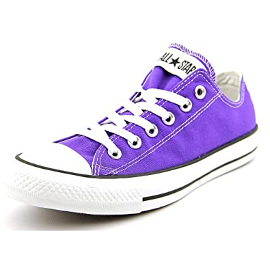 c1aed92ecfd4 Converse Chuck Taylor All Star Lo Sneaker Electric Purple (6 Mens)