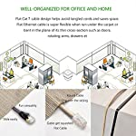 Cat 7 Shielded Ethernet Cable 5 ft 6 Pack (Highest Speed Cable) Cat7 Flat Ethernet Patch Cables - Internet Cable for Modem, Router, LAN, Computer - Compatible with Cat 5e,Cat 6 Network 14 ✔High Quality: Made of 4 shielded twisted pairs (STP) of copper wire with gold plated contact pins in each RJ45 Connector. This provides great resistance to crosstalk, noise, and interference. ✔High Speed: Supports 600MHz high-speed data transfer for server applications, cloud storage, video chatting, high definition video streaming, and gaming. Cat7 cables are the best generation. ✔High Compatibility:The Class F channel and Cat7 cable are compatible with cat5, cat5e, and cat6. Class F has less cross-talk and system noise past than Class E thanks to intelligent shielding.