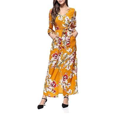 Boutique sale 2019 Falda Cruzada Larga Vestido De Punto Delgado De ...