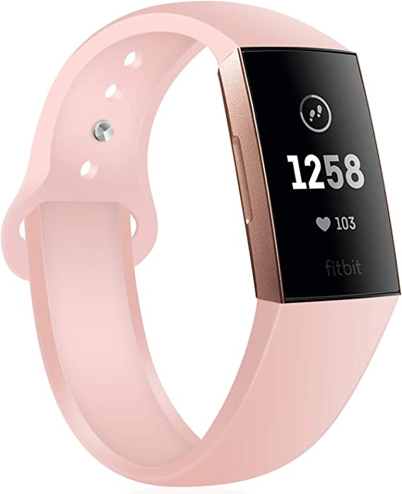Correa deportiva de silicona Fitbit Charge 3
