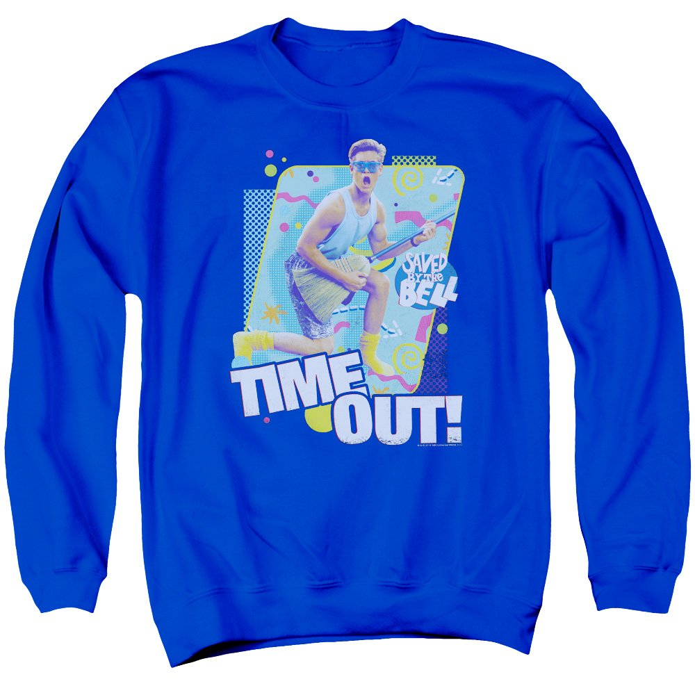 Saved by The Bell Mens Time Out Sweater
