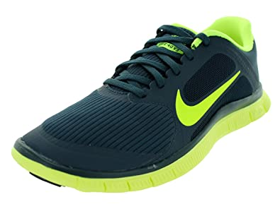 NIKE Mens Free 4.0 V3 Armory NavyVolt Running Shoes 9 Men US
