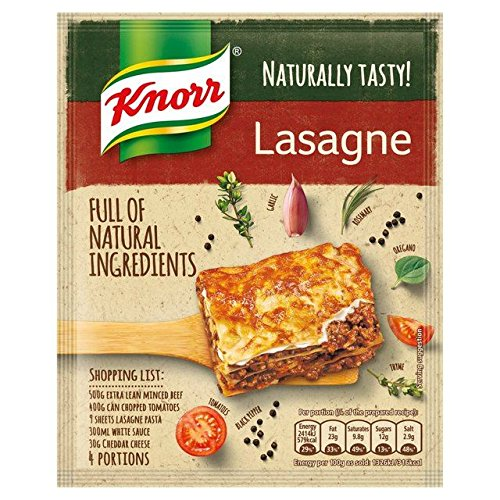 Knorr Naturally Tasty Lasagne Recipe Mix - 60g (0.13lbs)