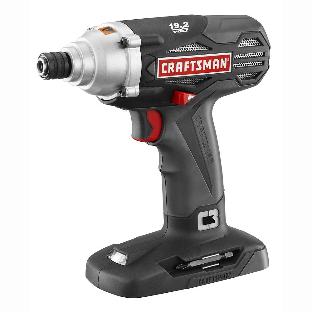 Craftsman C3 19.2-Volt 1/4'' Impact Driver (TOOL Only - Battery and charger not included)